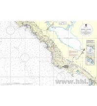 Seekarten Kroatien und Adria Kroatische Seekarte 100-29 - Budva - Ulcinj 1:100.000 Hrvatski Hidrografski Institut Repubika Hrvatska