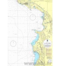 Seekarten Kroatische Seekarte 100-30 - Ulcinj - Durres 1:100.000 Hrvatski Hidrografski Institut Repubika Hrvatska
