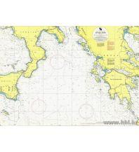 Seekarten Kroatische Seekarte 102 - Jonsko more 1:750.000 Hrvatski Hidrografski Institut Repubika Hrvatska