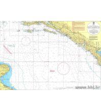 Seekarten Kroatien und Adria Kroatische Seekarte 300-34 - Barletta - Dubrovnik 1:300.000 Hrvatski Hidrografski Institut Repubika Hrvatska