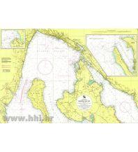 Seekarten Kroatische Seekarte 50-4 Rijecki zaljev 1:55000 Hrvatski Hidrografski Institut Repubika Hrvatska