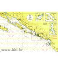 Seekarten Kroatien und Adria Kroatische Seekarte 50-20 - Dubrovnik 1:50.000 Hrvatski Hidrografski Institut Repubika Hrvatska