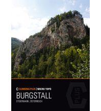 Sportkletterführer Österreich Climbing.Plus Micro Topo Burgstall Climbing.Plus
