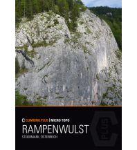 Sportkletterführer Österreich Climbing.Plus Micro Topo Rampenwulst Climbing.Plus