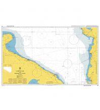 Seekarten Kroatien und Adria British Admiralty Seekarte 186, Vlorë to Bar and Brindisi 1:300.000 The UK Hydrographic Office