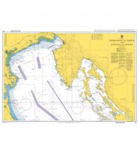 Seekarten British Admiralty Seekarte 204 - Sedmovrace to Trieste and Ravenna to Venezia 1:300.000 The UK Hydrographic Office