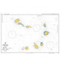 Seekarten British Admiralty Seekarte 366 - Arquipelago de Cabo Verde 1:500.000 The UK Hydrographic Office