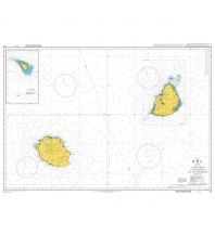 Seekarten British Admiralty Seekarte 712 - La Reunion to Mauritius and Ile Tromelin 1:350.000 The UK Hydrographic Office