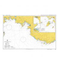 Seekarten British Admiralty Seekarte 1054 - Marmaris to Kas 1:150.000 The UK Hydrographic Office