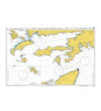 Seekarten British Admiralty Seekarte 1055 - Rhodes Channel and Gokova Korfezi 1:150.000 The UK Hydrographic Office