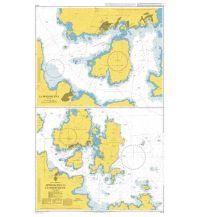Seekarten Italien British Admiralty Seekarte 1212 - Approaches to La Maddalena Sardinien 1:25.000 The UK Hydrographic Office