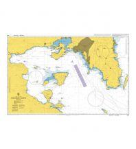 Seekarten British Admiralty Seekarte 1657 - Saronikos Kolpos 1:100.000 The UK Hydrographic Office