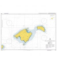 Seekarten British Admiralty Seekarte 1703 - Mallorca and Menorca 1:300.000 The UK Hydrographic Office