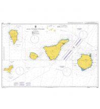 Seekarten British Admiralty Seekarte 1861 - Islas Canarias, Gran Canaria to El Hierro 1:350.000 The UK Hydrographic Office