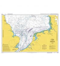 Seekarten British Admiralty Seekarte 2182A, North Sea Southern Sheet/Nordsee 1:750.000 The UK Hydrographic Office