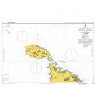 Seekarten Italien British Admiralty Seekarte 2537 - Ghawdex - Kemmuna and the Northern Part of Malta 1:50.000 The UK Hydrographic Office