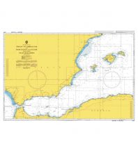 Seekarten British Admiralty Seekarte 2717 - Strait of Gibraltar to Barcelona and Alger 1:1.100.000 The UK Hydrographic Office