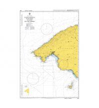 Seekarten British Admiralty Seekarte 2832 - Mallorca: Western Part 1:120.000 The UK Hydrographic Office