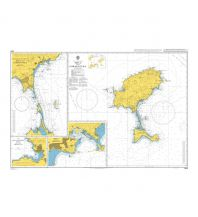 Seekarten British Admiralty Seekarte 2834 - Ibiza and Formentera 1:120.000 The UK Hydrographic Office