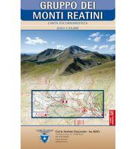 Wanderkarten Apennin CAI Carta escursionistica Gruppo dei Monti Reatini 1:25.000 Edizioni Il Lupo