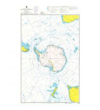 Seekarten British Admiralty Seekarte 4009 - Planning Chart for the Antarctic Region 1:15.000.000 The UK Hydrographic Office