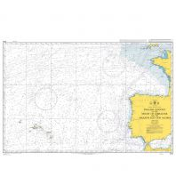 Seekarten British Admiralty Seekarte 4103 - English Channel to the Strait of Gibraltar 1:3.500.000 The UK Hydrographic Office