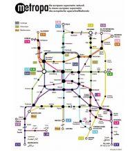 Eisenbahn Postkarte: Metropa - Das europäische Superschnellbahnnetz Studio 77