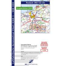 Flugkarten ICAO Luftfahrtkarte Rostock 1:500.000 - Edition 2020 DFS Deutsche Flugsicherung