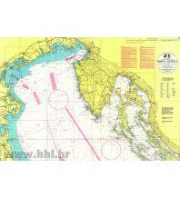 Seekarten Kroatien und Adria Kroatische Seekarte INT 3410 - Rijeka - Venezia 1:250.000 Hrvatski Hidrografski Institut Repubika Hrvatska