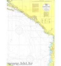 Seekarten Kroatische Seekarte INT 3414 - Dubrovnik - Durres 1:250.000 Hrvatski Hidrografski Institut Repubika Hrvatska