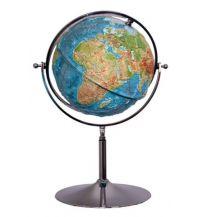 Globen 3D Relief-Globus - Die Erde mit Chromständer 1:20.000.000 Columbus Lehrmittel GmbH