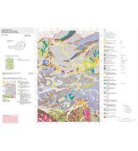 Geologie und Mineralogie Österreichische Geofast-Karte 100, Hieflau 1:50.000 Geologische Bundesanstalt