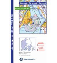 Flugkarten VFR 500 Luftfahrtkarte Denmark - Dänemark 1:500.000 - Edition 2020 DFS Deutsche Flugsicherung