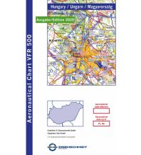 Flugkarten VFR Visual 500 Hungary - Ungarn 1:500.000 - Edition 2020 DFS Deutsche Flugsicherung