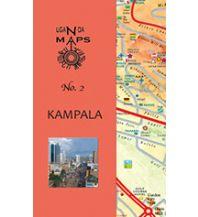 Stadtpläne East Africa Maps No. 2 - Kampala and Region (Uganda) East Africa Maps