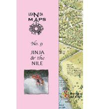 Straßenkarten East Africa Maps No. 9 - Jinja & the Nile Uganda East Africa Maps