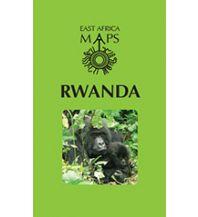 Straßenkarten East Africa Maps - Rwanda Ruanda East Africa Maps