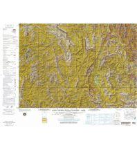 Straßenkarten Asien JOG NF-48-09 Vietnam - Dien Bien Phu 1:250.000 Defense Mapping Agency
