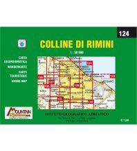 Wanderkarten Apennin IGA-Wanderkarte 124, Colline di Rimini 1:50.000 Istituto adria