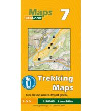 Wanderkarten Georgien Geoland Trekking Map 7 Georgien - Oni, Utsera Resort, Ghebi Resort 1:50.000 Geoland
