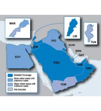 Straßenkarten Garmin City Navigator NT - Naher Osten & Nordafrika Garmin International Inc.