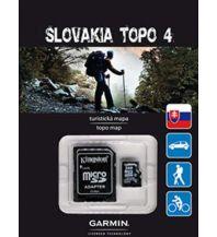 Outdoorkarten Garmin Topo Slowakei (V4) 1:25.000 Garmin International Inc.