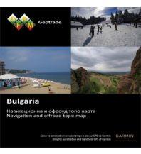 Outdoorkarten OFRM Geotrade - TOPO Bulgaria  Garmin International Inc.