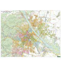 Wien Wandkarte-Magnetmarkiertafel: Wien 1:20.000 Freytag-Berndt u. Artaria KG