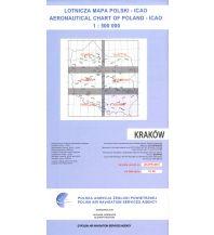 Flugkarten ICAO Luftfahrtkarte Polen: Krakau 1:500.000 Edition 2018 Eisenschmidt