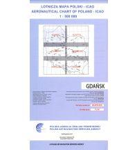 Flugkarten ICAO Luftfahrtkarte Polen: Danzig 1:500.000 Edition 2018 Eisenschmidt