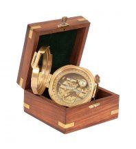 Outdoor Zubehör  Hochwertiger Messingkompass - Trinidad  Kasper & Richter