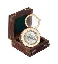 Nautik Zubehör Eleganter Nostalgiekompass mit Lupe - San Jose Kasper & Richter