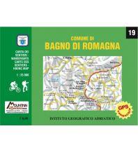 Wanderkarten Italien 19 Istituto Geografico Adriatico Italien - Comune di Bagno di Romagna 1:25.000 Istituto adria