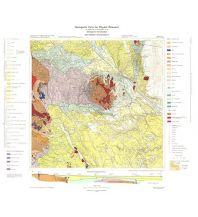 Geologie und Mineralogie 107+108 Geologische Print on Demand-Karte Österreich - Mattersburg, Deutschkreutz 1:50.000 Geologische Bundesanstalt